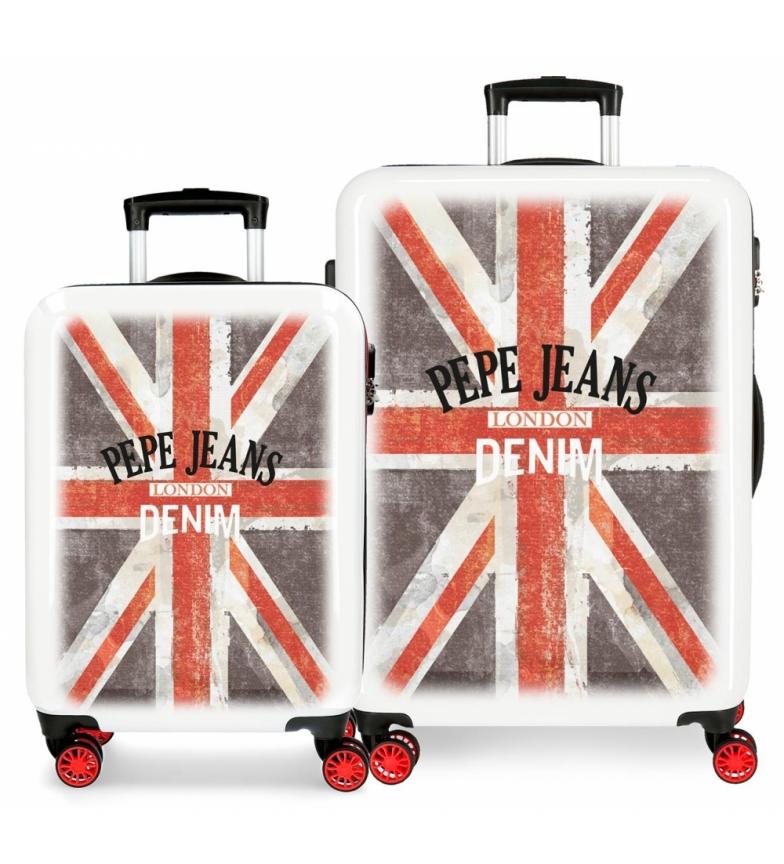 Comprar Pepe Jeans Conjunto de malas Pepe Jeans World rígido 34L e 70L Denim -38x55x55x20cm/48x68x26x26cm