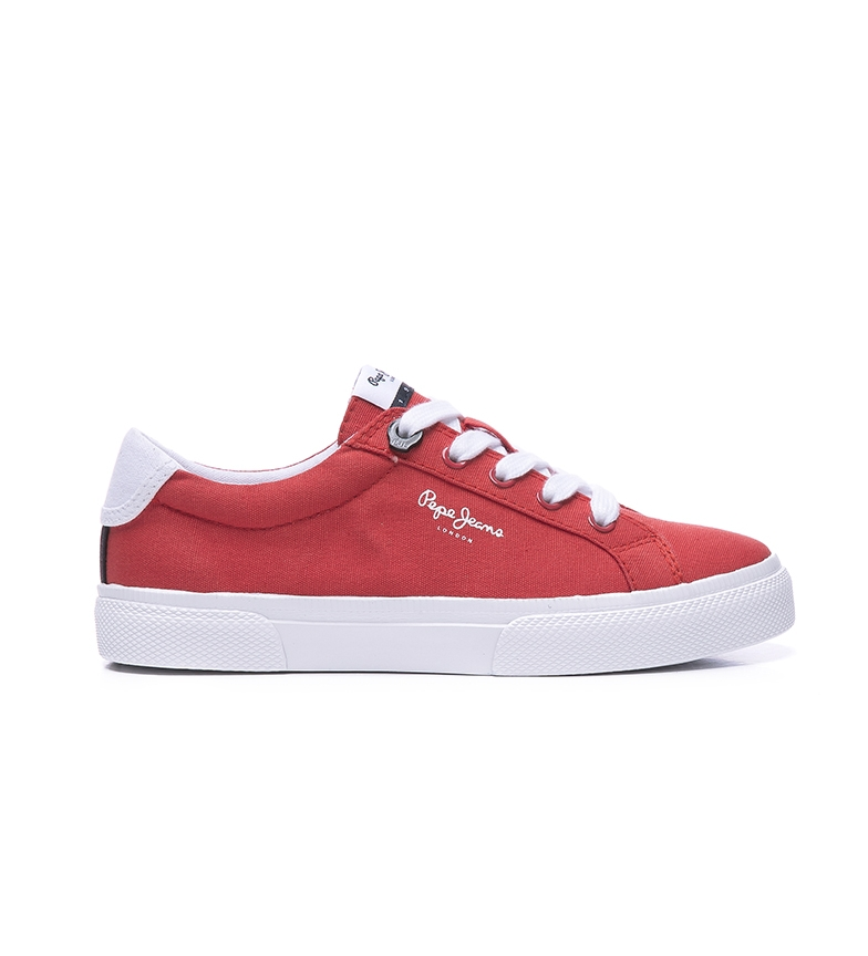 Comprar Pepe Jeans Kenton Basic Boy chaussures rouge