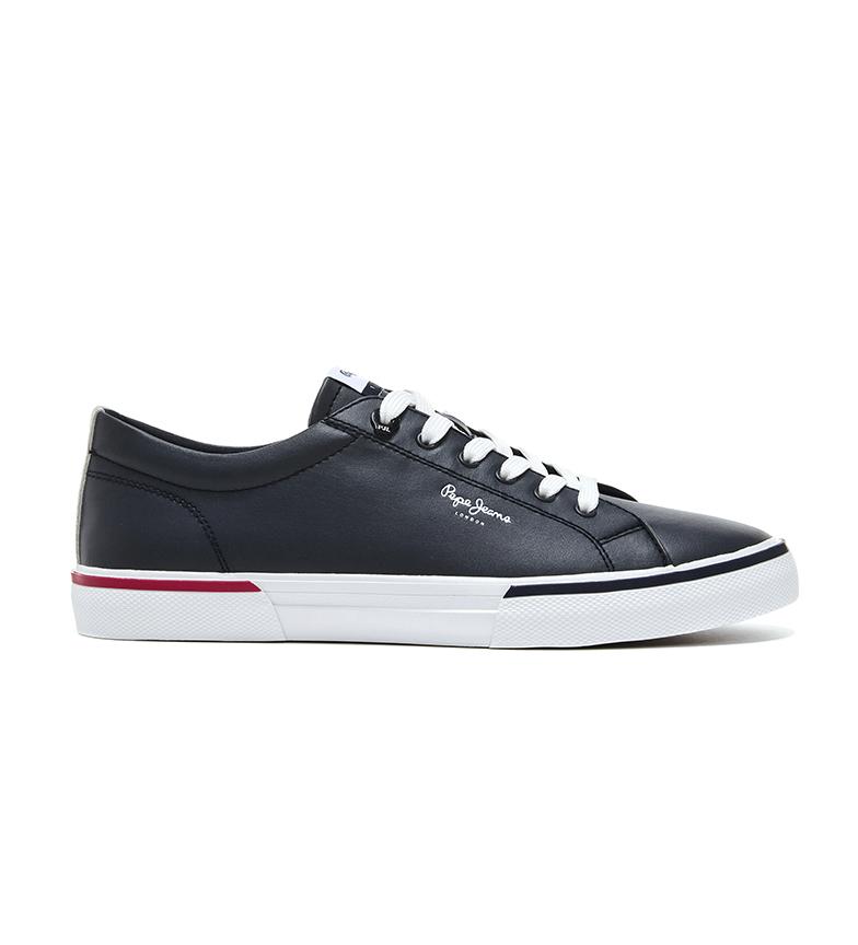 Comprar Pepe Jeans Kenton Smart Court - Chaussures de marine en cuir