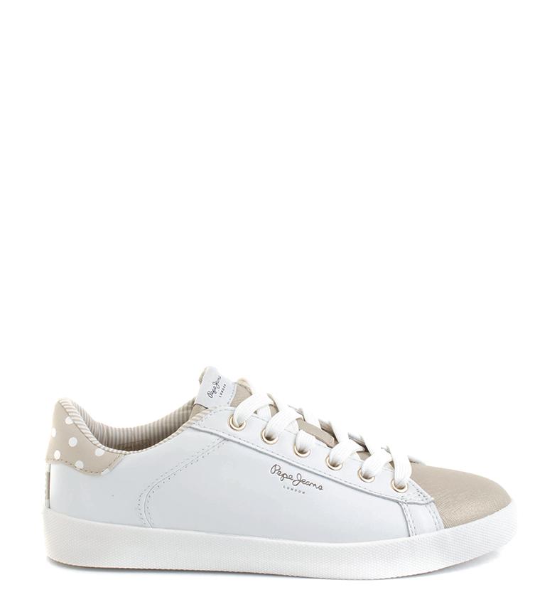 Comprar Pepe Jeans Zapatillas Kioto Dotty blanco, oro