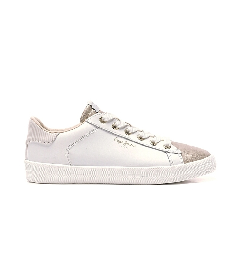 Comprar Pepe Jeans Kyoto One chaussures blanches, or