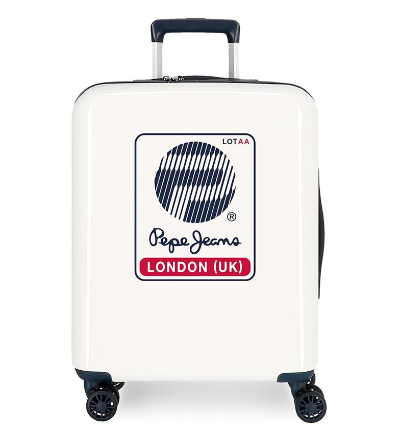 Comprar Pepe Jeans Maleta de cabina rígida 55cm Pepe Jeans London Blanca