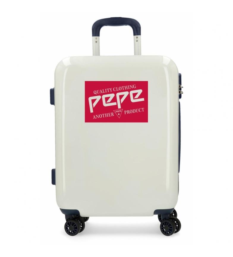 Comprar Pepe Jeans Rigid cabin suitcase 55cm Pepe Jeans Quality White