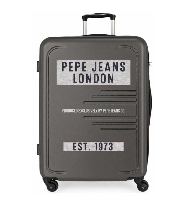 Comprar Pepe Jeans Valise grand modèle 125L Edison Jeans Axle Grey -79x56x33 cm