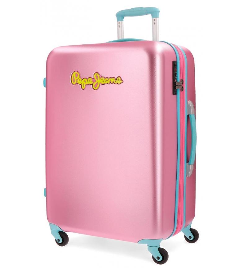 Comprar Pepe Jeans Big suitcase Pepe Jeans Bristol Turquoise rigid 79cm