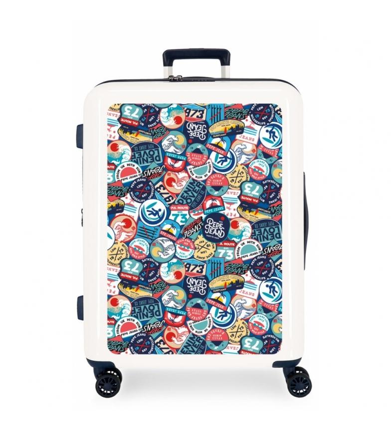 Comprar Pepe Jeans Suitcase Medium Pepe Jeans Leven rigid 81L Phoenix -70x48x26 cm