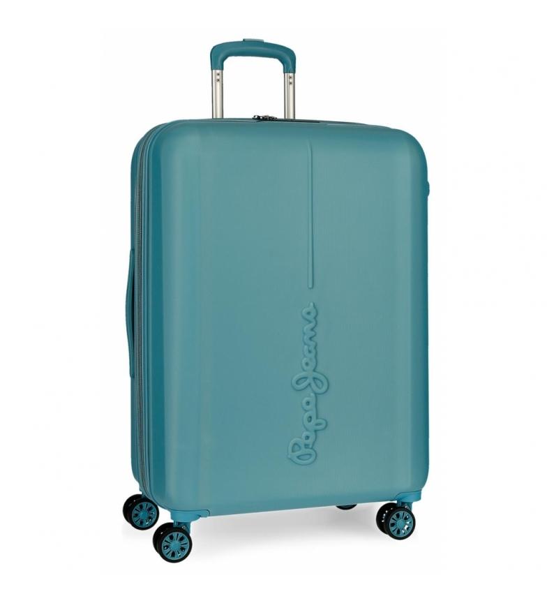 Comprar Pepe Jeans Valigia rigida 70 cm Pepe Jeans Glasgow Blue Sea -48x70x28cm-