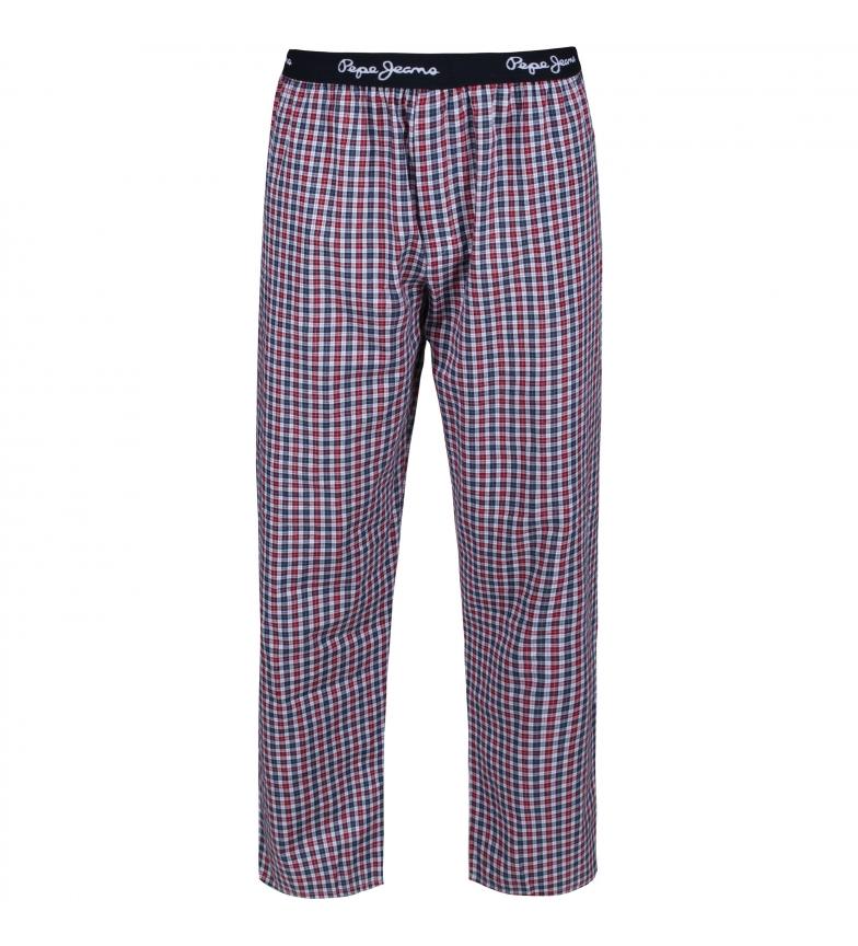 Comprar Pepe Jeans Pantaloni pigiama Linford rosso, blu