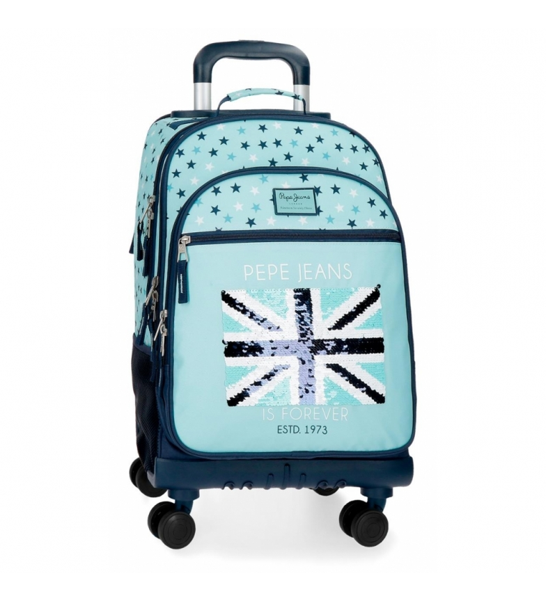 Comprar Pepe Jeans Backpack 4 wheels Pepe Jeans Cuore -33x44x21cm