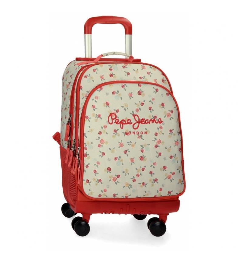 Comprar Pepe Jeans Backpack 4 wheels Pepe Jeans Joseline -33x44x21cm