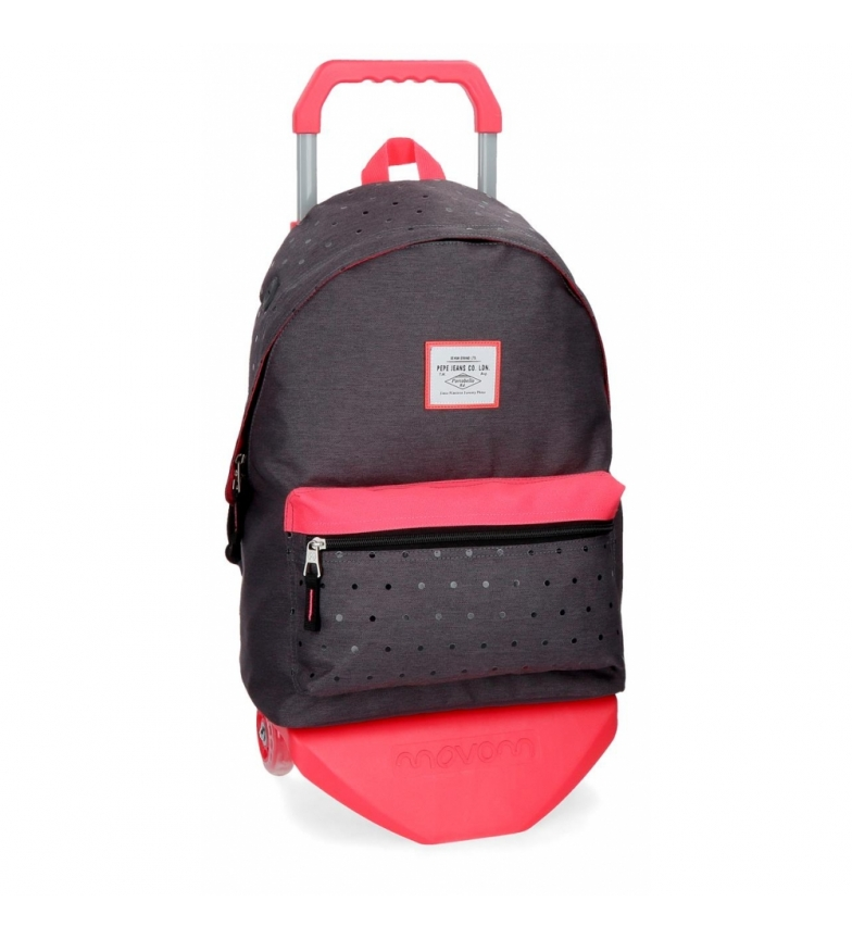 Comprar Pepe Jeans Backpack 42 cm with trolley Pepe Jeans Molly grey -31x42x17,5cm