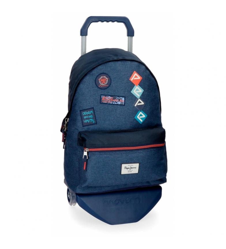 Comprar Pepe Jeans Backpack 42 cm with trolley Pepe Jeans Paul -31x42x17,5cm