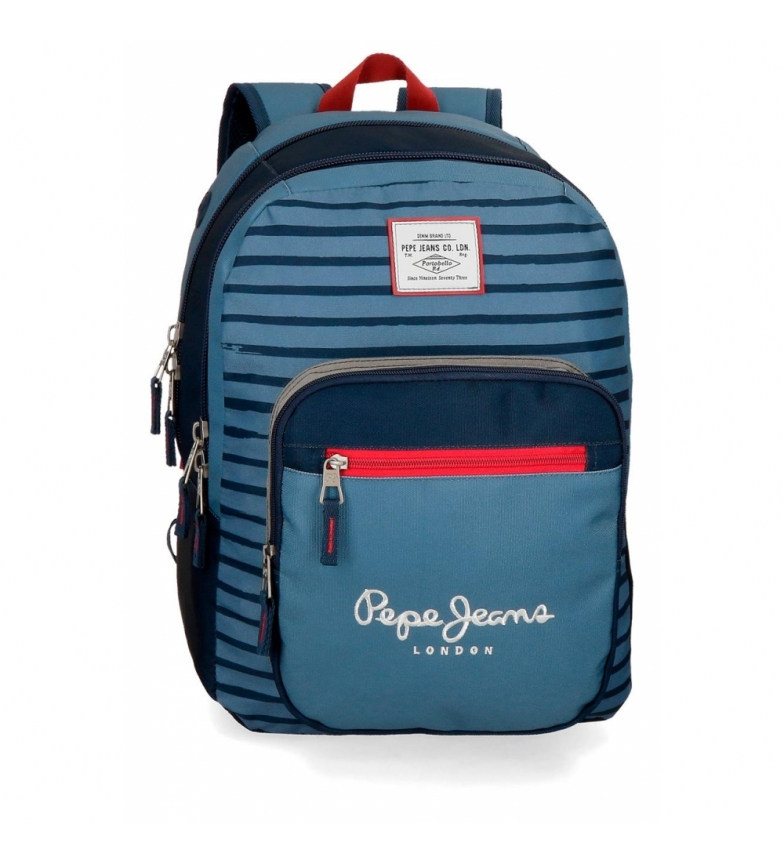 9e4856550 Comprar Pepe Jeans Backpack 44 cm double zipper Pepe Jeans Yarrow  -30x44x15cm