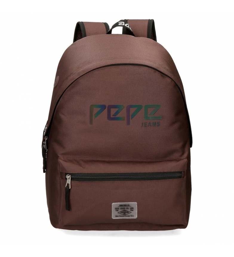 Comprar Pepe Jeans Zaino adattabile Pepe Jeans Osset marrone -31x42x17,5cm-