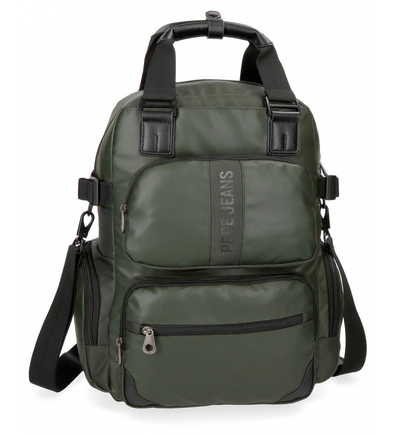 Comprar Pepe Jeans Casual backpack Pepe Jeans Bromley Green 13.3