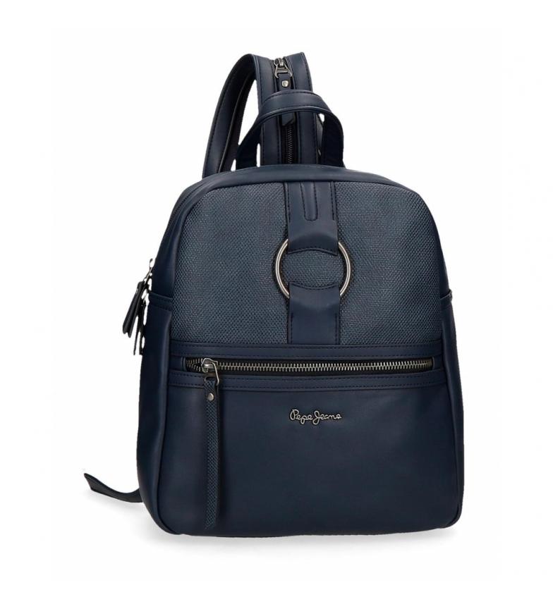 Comprar Pepe Jeans Mochila Daphne azul -24x28x10cm