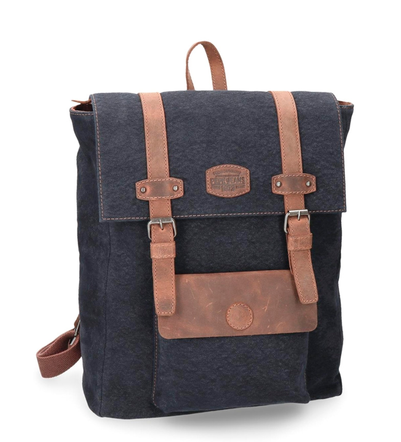 Comprar Pepe Jeans Casual backpack Pepe Jeans Horse blue square computer compartment leather details