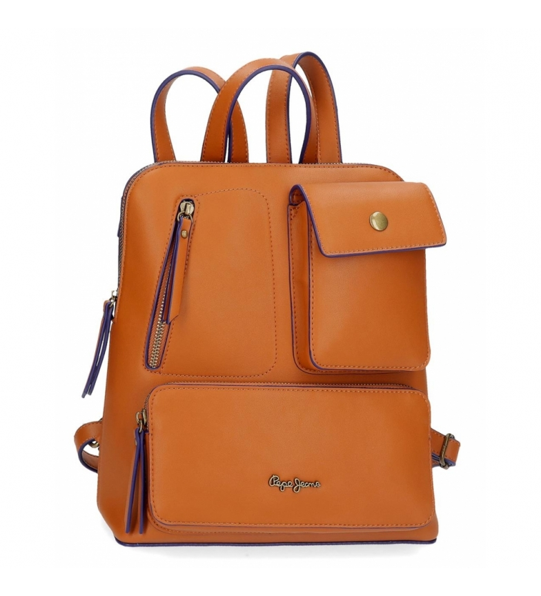 Comprar Pepe Jeans Casual backpack Pepe Jeans Zoe brown -31x35x12cm