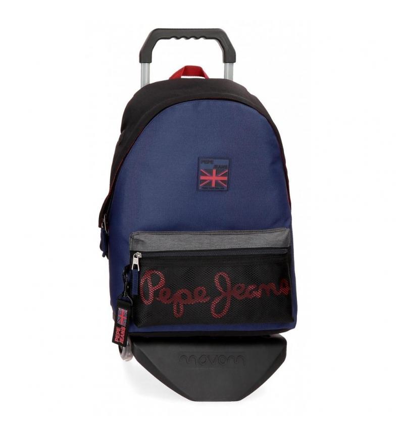 Comprar Pepe Jeans Sac à dos avec chariot Pepe Jeans Hammer -31x42x17,5cm