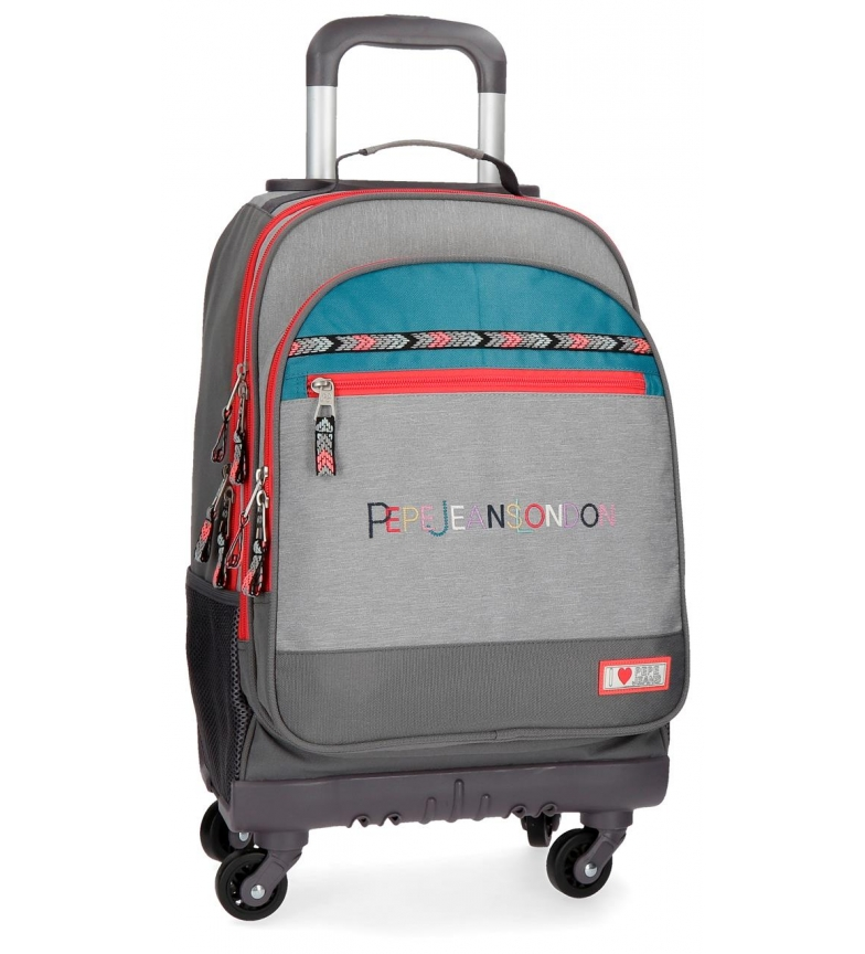 Comprar Pepe Jeans Backpack with wheels Pepe Jeans Katia 4R