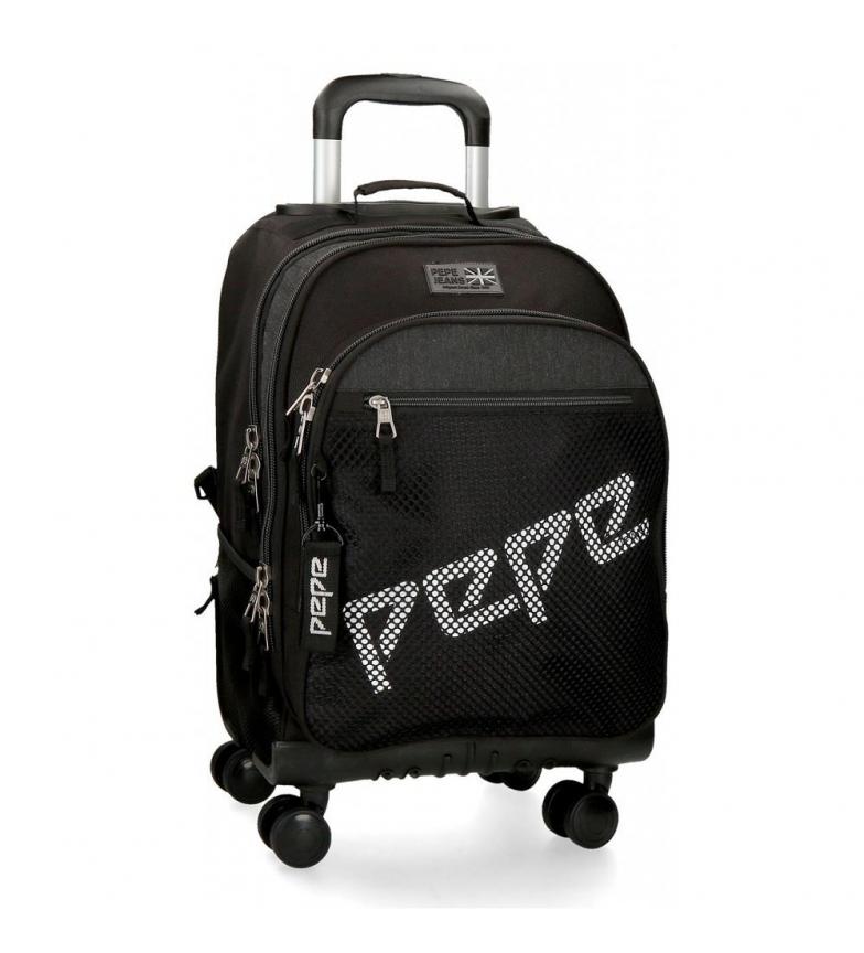 Comprar Pepe Jeans Mochila com rodas Pepe Jeans Ren 4R -32x44x21x21cm