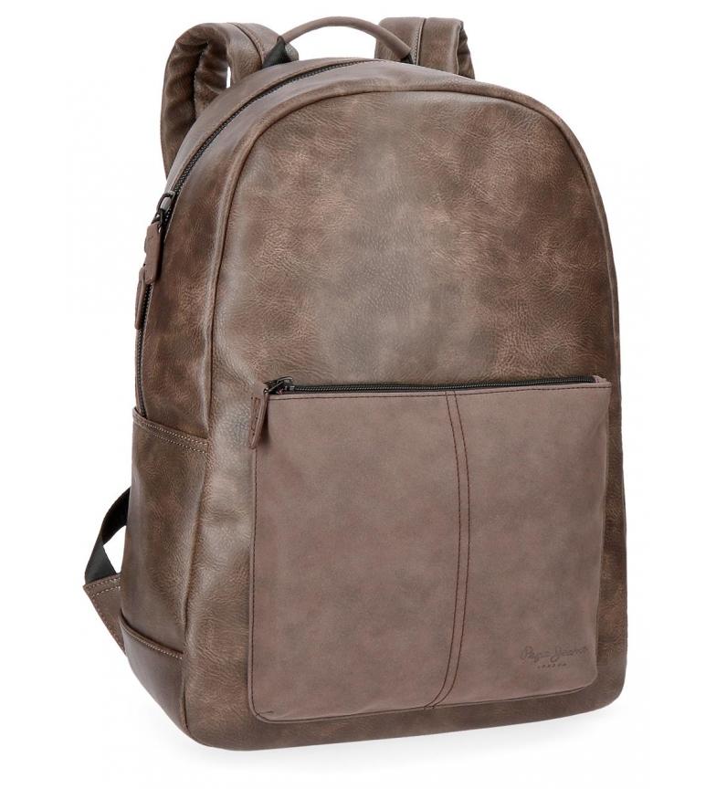 b9184b566 Comprar Pepe Jeans Pepe Jeans Laptop Mochila Cranford Brown -32x44x15cm-