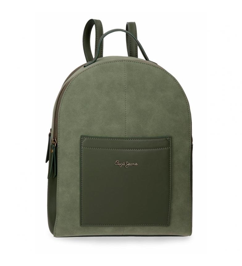 Comprar Pepe Jeans Zaino Porta Tablet Pepe Jeans Lorain Green -26x33x12cm-