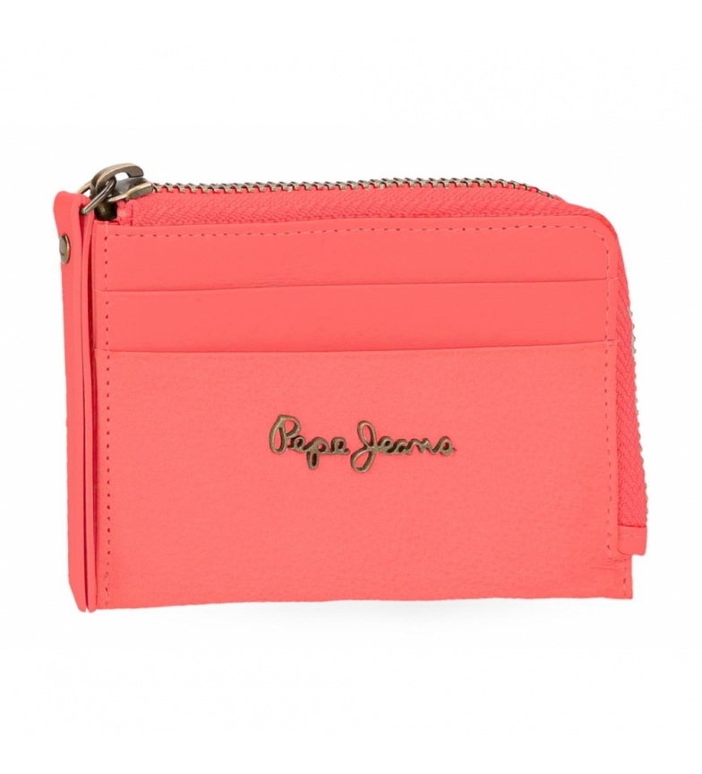 Comprar Pepe Jeans Leather wallet with card Pepe Jeans Double Coral -11,5x8x1,5cm