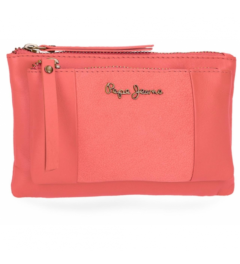 Comprar Pepe Jeans Leather purse Pepe Jeans Double Coral -17x10,5x2cm