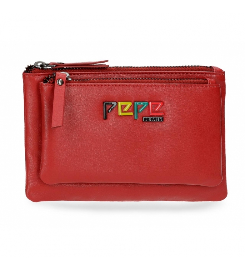 Comprar Pepe Jeans Leather wallet toilet bag Pepe Jeans Mandala red -17x10,5x2cm