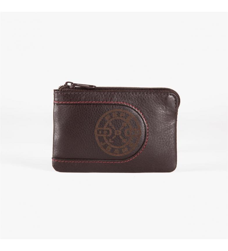 Comprar Pepe Jeans Pepe Jeans Burned Wallet avec porte-cartes marron -11x7x1,5 cm-