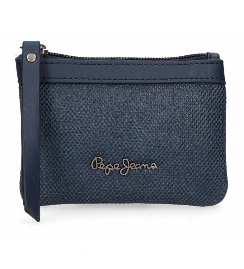 Comprar Pepe Jeans Porte-monnaie daphné bleu -13x9x1.5cm