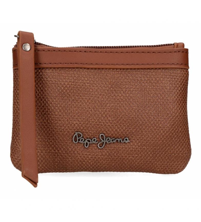 Comprar Pepe Jeans Porte-monnaie daphné marron -13x9x1.5cm