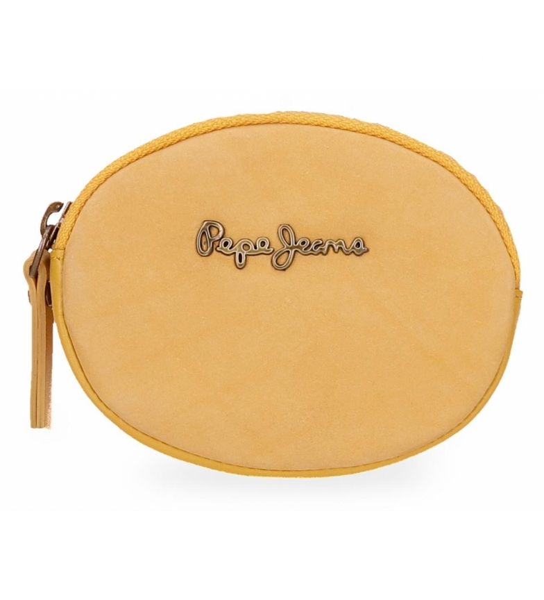 Comprar Pepe Jeans Pepe Jeans Double purse yellow -10,5x7x1,5cm