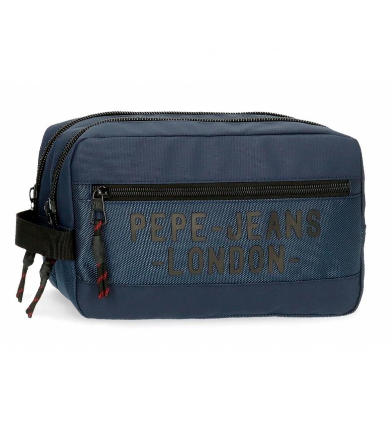 Comprar Pepe Jeans Trousse de toilette adaptable Pepe Jeans Bromley bleu -26x16x12cm
