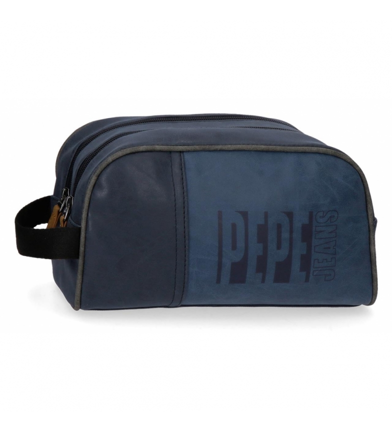 Comprar Pepe Jeans Neceser Doble Compartimento Adaptable Pepe Jeans Max azul -26x16x12cm-