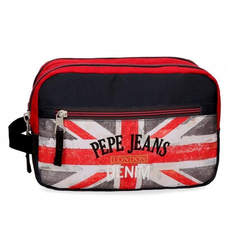 Comprar Pepe Jeans Trousse de toilette avec deux compartiments adaptables Pepe Jeans Calvin 26x16x12cm