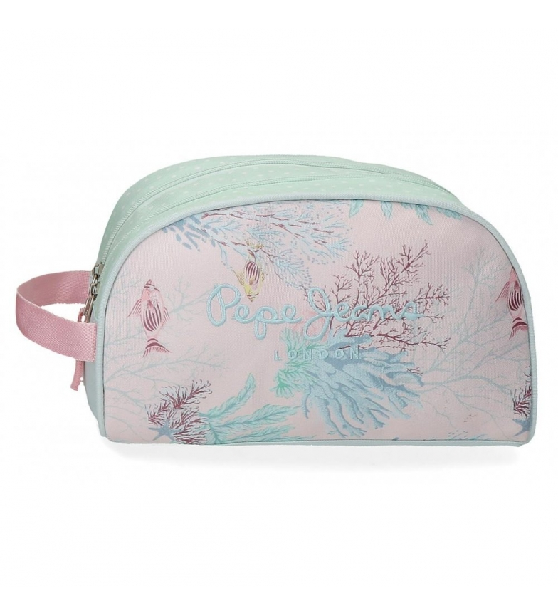 Comprar Pepe Jeans Toilet bag with two compartments Pepe Jeans Ariel -26x16x12cm