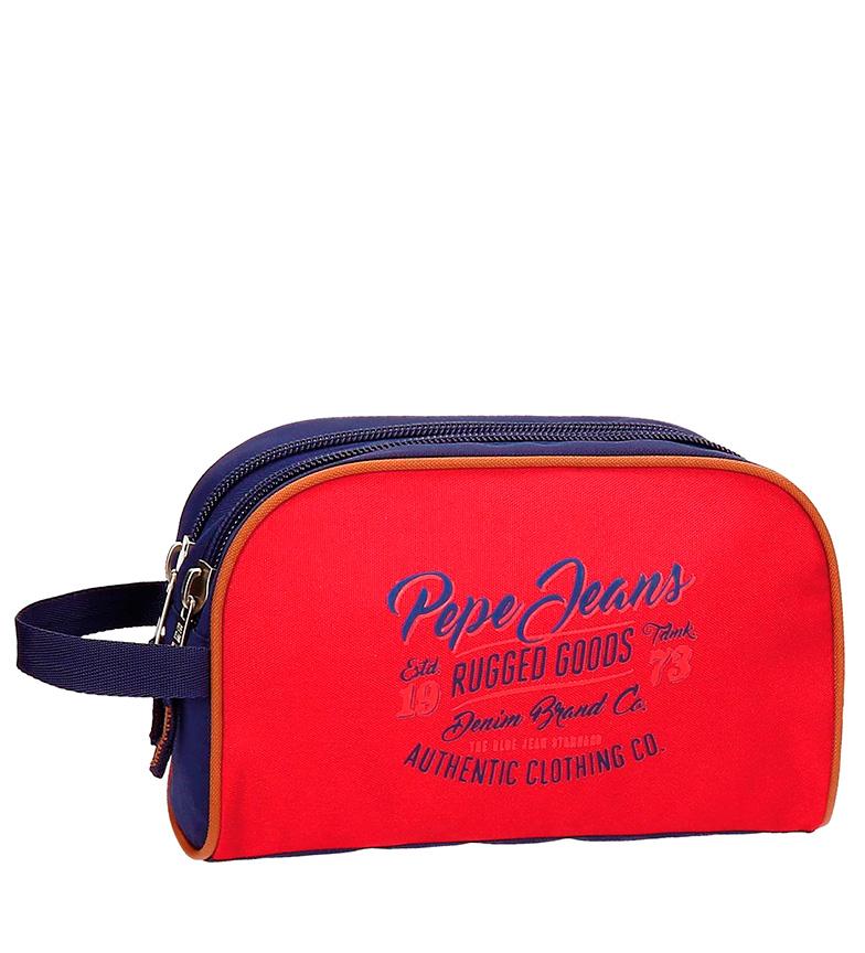 Comprar Pepe Jeans Jake red bag, blue-16x26x12 cm-