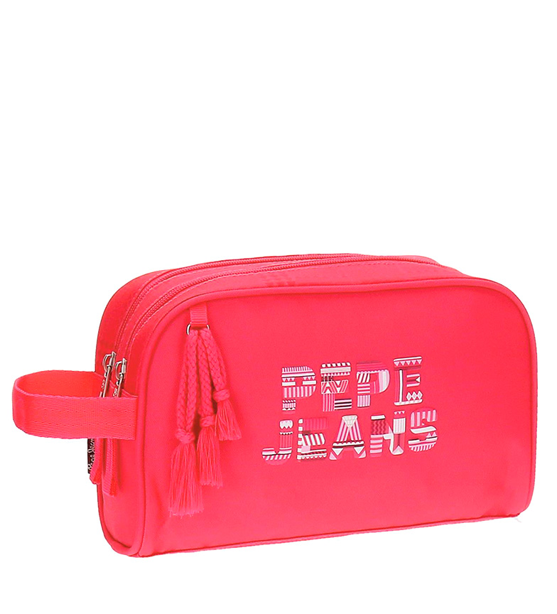 Comprar Pepe Jeans Samantha neceser rosso-16x26x12 cm-