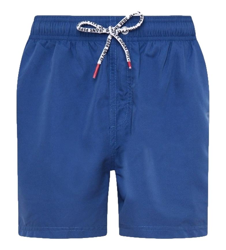 Pepe Jeans Bañador Liso New Brian azul