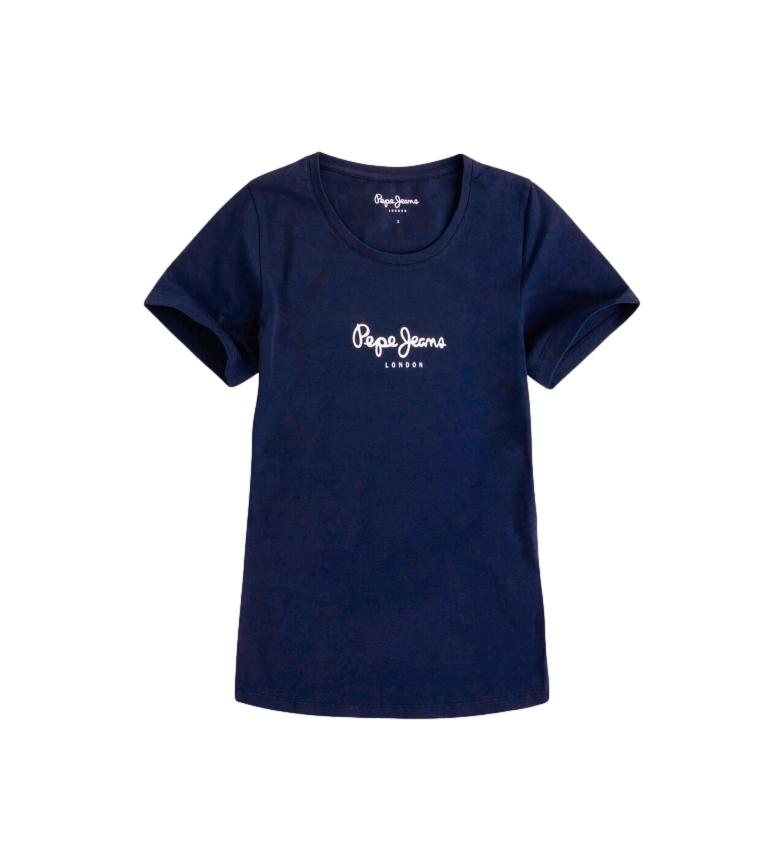 Pepe Jeans Maglietta blu navy New Virginia