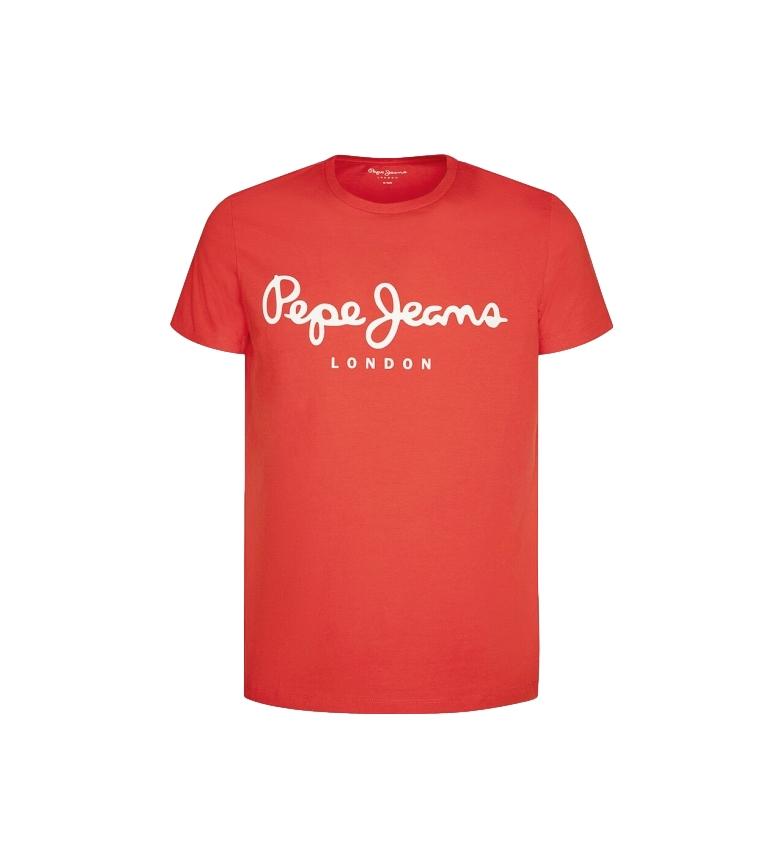 Comprar Pepe Jeans T-shirt Basic Logo Original Stretch rossa