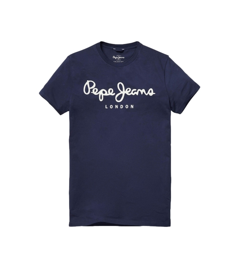 Comprar Pepe Jeans Camiseta Básica Logo Original Stretch marino