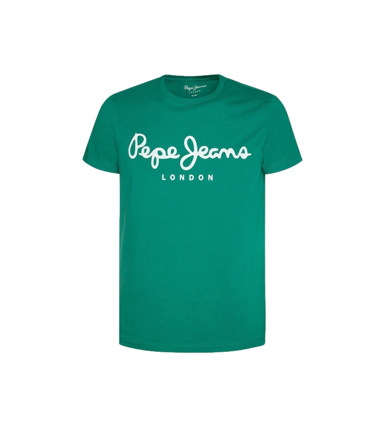 Comprar Pepe Jeans Basic T-shirt Logo Original Stretch green