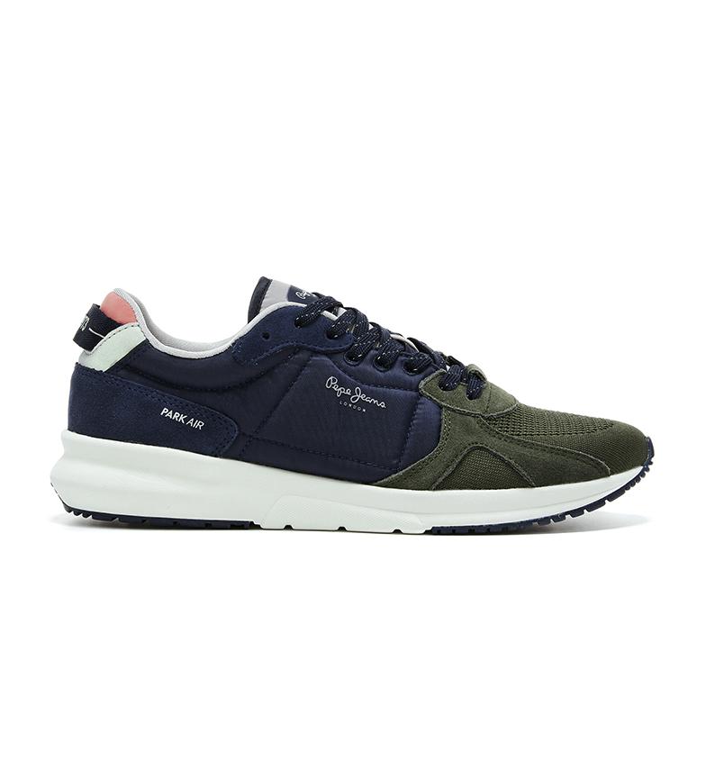 Comprar Pepe Jeans Scarpe Park Air Knit verde, blu navy