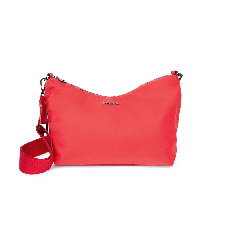 Comprar Pepe Jeans Bolso Corazón Patt rojo -28x20x14cm-