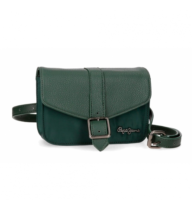 Comprar Pepe Jeans Bum saco com alça de ombro Pepe Jeans Ann Verde -18x15x5x5cm