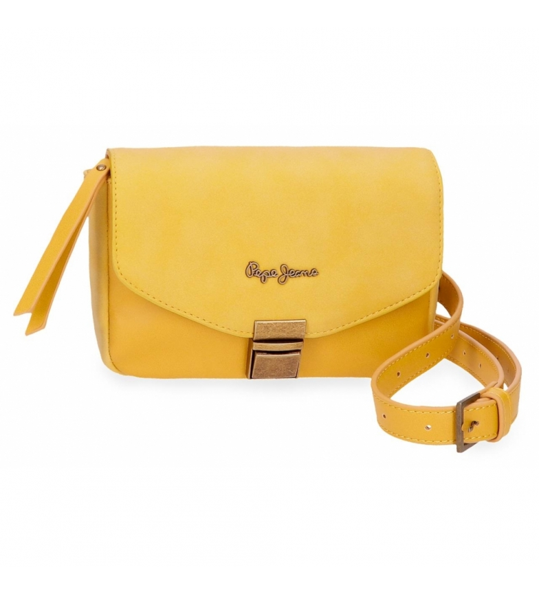 Comprar Pepe Jeans Bum bag with shoulder strap Pepe Jeans Bitmat Yellow -18x15x5cm
