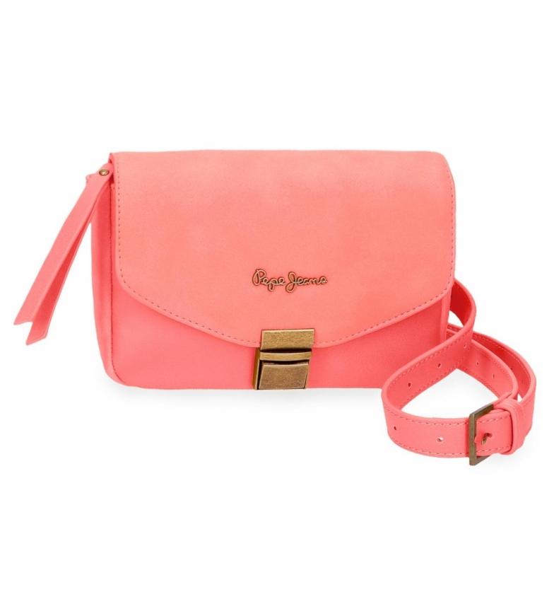 Comprar Pepe Jeans Bum bag with shoulder strap Pepe Jeans Bitmat Coral -18x15x5cm